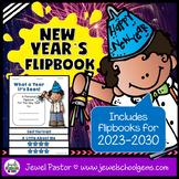 New Year's 2018 Activities (New Year's Flipbook)