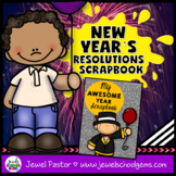 New Year's 2018 Activities (New Year's Resolutions 2018 Scrapbook)