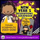 New Year's 2019 Activities (New Year's Resolutions 2019 Scrapbook)