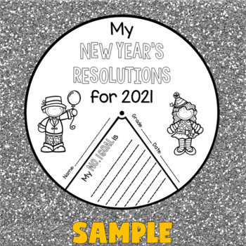 New Year's 2017 Activities (New Year's Resolutions 2017 Crafts)