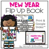 New Years 2018 Flip Up Book
