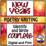 New Years Activity 2019 - Couplet Poetry Writing