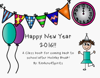 New Years 2016 Class Book