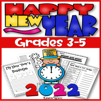 New Years 2017 Grades 3-5