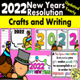 New Years 2018  Activities and Crafts FREE UPDATES  39 pages
