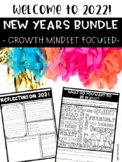 New Years 2018 Bundle with a Growth Mindset Focus!