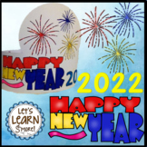 New Years 2019 Hats - Crowns, New Years Activities, January Craft