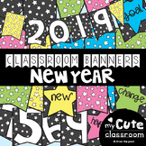 New Years Banner Activity {Printable Pennant Garland / Bunting}
