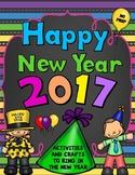 New Years 2017 Writing and Craftivity