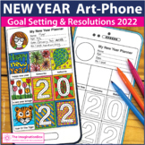 New Years 2018 Art Activity, Goals and Resolutions