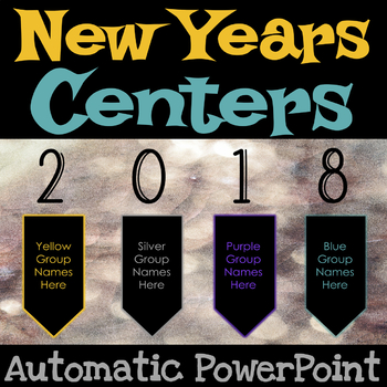 New Years 2018  Center Rotations Automatic PowerPoint