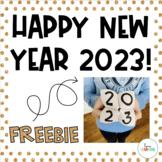 New Years 2018: Cootie Catcher Freebie