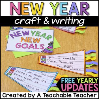 New Years 2018 Activities | New Years Writing Craft