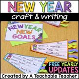 New Years Activities 2019 | New Years Writing Craft