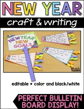 New Years Activities 2020 | New Years Writing Craft