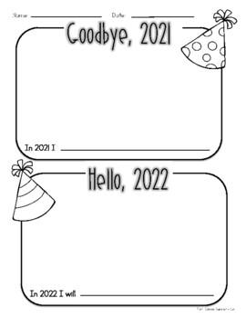 New Years 2019 | Goodbye 2018, Hello 2019 | New Years Freebie