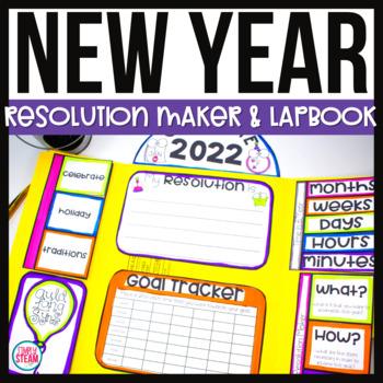 New Years 2018 Interactive Lapbook