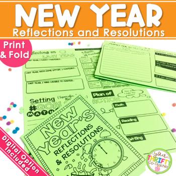 New Years Activities 2020 New Years Resolution Upper Elementary