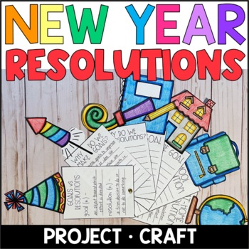 New Year Resolutions and Goals Fan