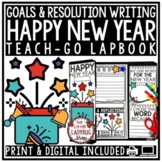 Happy New Years 2019 Activity Lapbook & Making a New Years Resolution 2019