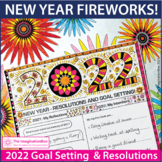 50% off 1st 48 hours! New Years 2019 Coloring Pages, Firew