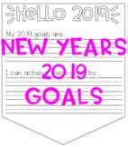 New Years 2019 Goal Setting Banner