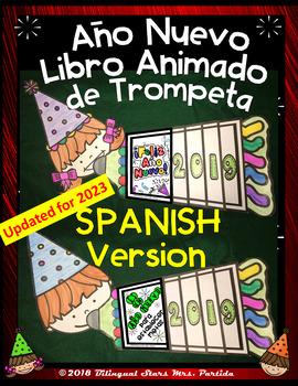 New Years 2019 Goal Setting Flap Book SPANISH version