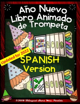 New Years 2020 Goal Setting Flap Book SPANISH version