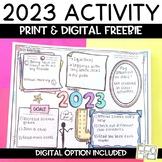 New Years 2021 FREE Activity