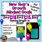 New Years 2020 Goals | Growth Mindset Project & Bulletin Board