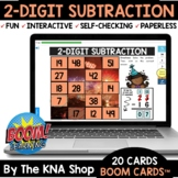 New Years 2021 2 Digit Subtraction With and Without Regrou