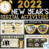 New Years 2021 Digital Activities Resolutions | Distance L