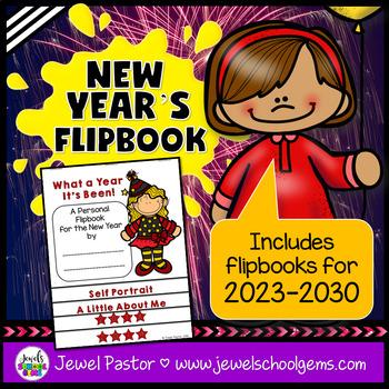 New Year's 2019 Activities (New Year's Flipbook)