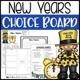 New Years Choice Board