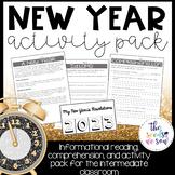 New Years 2021 Activities