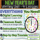 New Year's Writing BUNDLE! - Argumentative, Persuasive, Ex