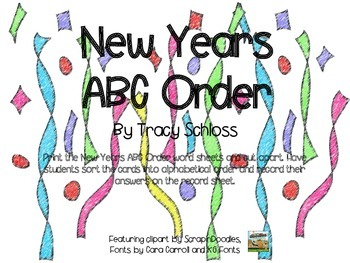 New Years, ABC Order