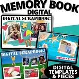 New Years Activities 2019 Goal Writing Memory Book  | Google Classroom Ready