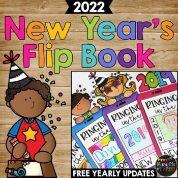 New Years Activities 2020 Writing Crafty Flip Book