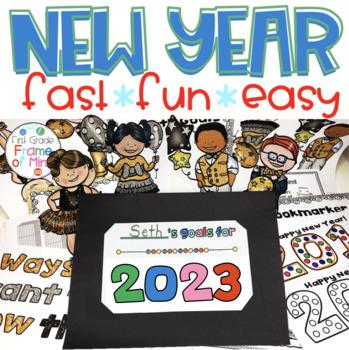 New Years 2020 activities FREE UPDATES