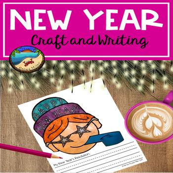 New Years Activities 2019 Craftivity
