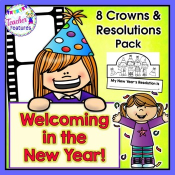 New Years 2019 | New Years Activities | Crowns & Resolutions Pack