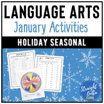 January Language Arts Activities