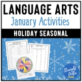 January Language Arts Activities