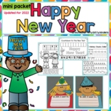 New Year's Activities, Happy New Year, Printables, Resolutions:UPDATED FOR 2019