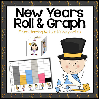 New Years Activities: Roll & Graph