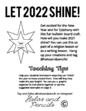 """New Years Activities and Epiphany """"Let 2019 Shine!"""" Bulletin Board craft"""