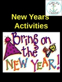 New Years Activities and Handouts