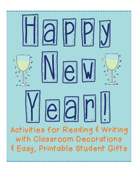 New Year's Activities for Reading and Writing