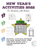 New Years Activities for Students with Autism 2021